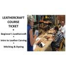 *** Osborne Park Leathercrafting Course Ticket ***