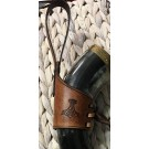 Viking Drinking Horn AND Holder Special