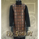 Brigandine Leather Armour Brown Small/Medium