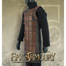 Brigadine Leather Armour Brown Large/X-large