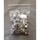 10mm Double Crown Rivets - Nickel