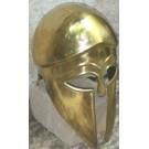 Italo Corinthian Helmet - Brass