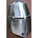 14th Century Great Helm - 14 Gauge