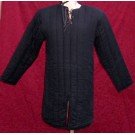 Black Cotton Padded Gambeson
