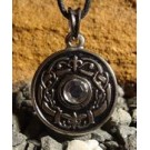 CELTIC KNOTTED TALISMAN with glass