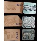 Big Cats 3D Stamp Set