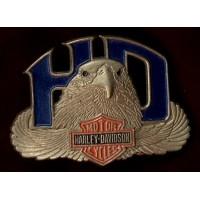 Harley Davidson Eagle Head buckle #1