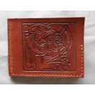 Irish Style Wallet - Dragon Carving