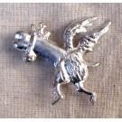 Flying Cock Badge