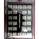 "Craftool 3/4"" (19 mm) ""Leather Art"" Alphabet Stamp Set"