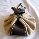 Small Leather Pouch - Deluxe