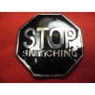 Stop Snitching Buckle